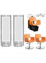 Zestaw fryzjerski Gabbiano Q-Z0163 - pomarańczowy