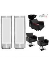 Zestaw fryzjerski Gabbiano Q-Z2578 - czarny