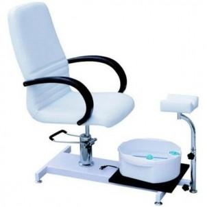Fotel kosmetyczny hydrauliczny SPA z masażerem