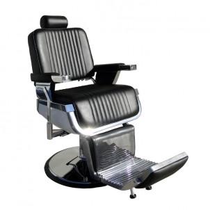Fotel fryzjerski Barber - czarny