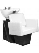Myjnia fryzjerska Gabbiano Ankara - biała