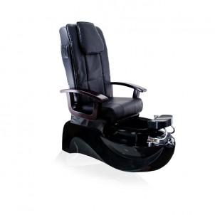 Fotel pedicure SPA TS-1204 czarny, z funkcją masażu