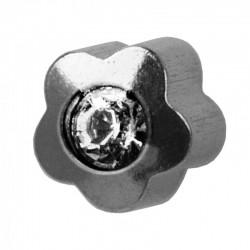 Kolczyk 508 srebrny crystal