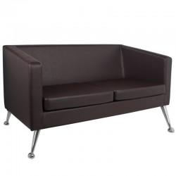 Sofa do poczekalni 005 brązowa