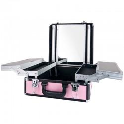 Kufer Glamour 9511K - różowy