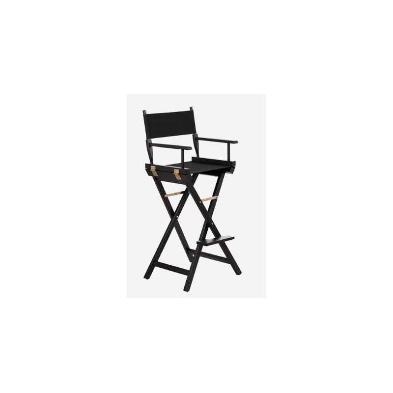 Drewniane krzesło do makijażu