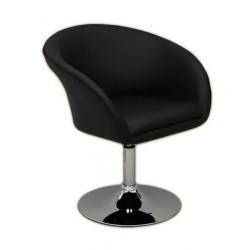 Fotel fryzjerski Drop czarny