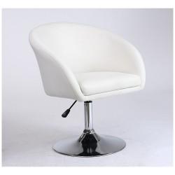 Fotel fryzjerski Drop biały