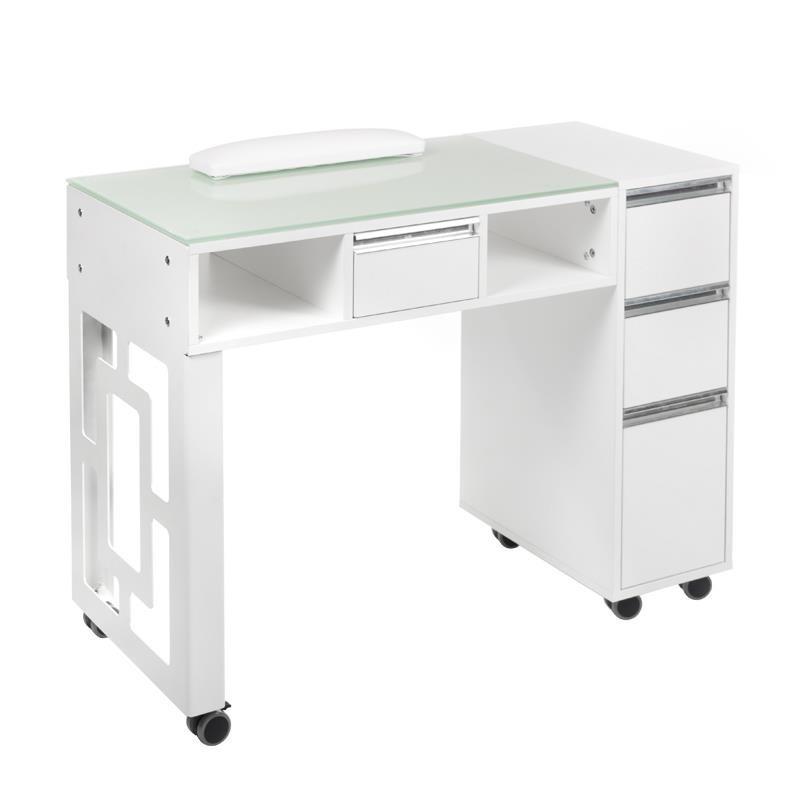 Stolik Do Manicure Bd 3801 Biały