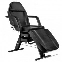 Fotel kosmetyczny A-202 czarny