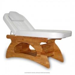 Fotel kosmetyczny SPA - biały