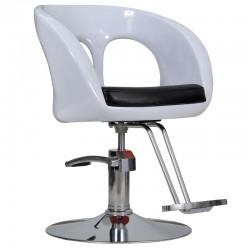 Fotel fryzjerski Ovo - biały