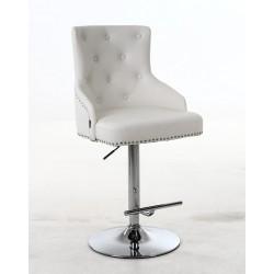 Fotel do wizażu Exeter - biały
