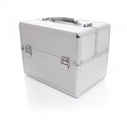 Kuferek kosmetyczny S- silver
