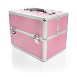 Kuferek kosmetyczny S- pink