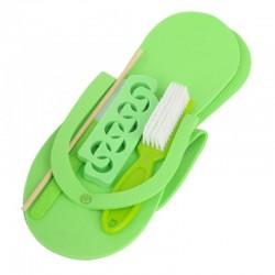 Pedicure pakiet zielony