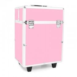 Kufer Glamour 9022 - różowy