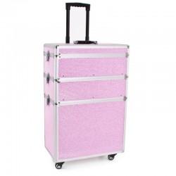 Kufer Glamour 9023 - różowy...