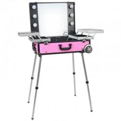 Kufer Glamour D-9606K - różowy