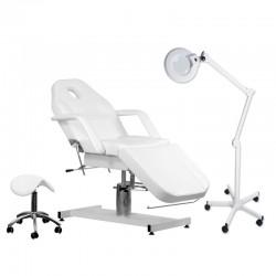 Zestaw fotel A-210 + lampa...